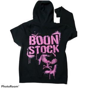 Boonstock Music Festival Black Pullover Hoodie